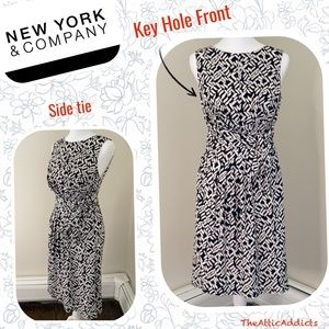 New York & Co. Dress size S Black and White
